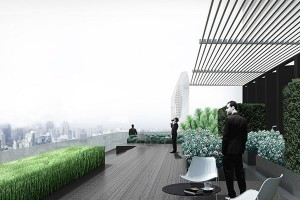 Noble-Ploenchit-Bangkok-condo-for-sale-Rooftop-garden-2