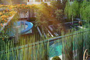 Noble-Ploenchit-Bangkok-condo-for-sale-garden
